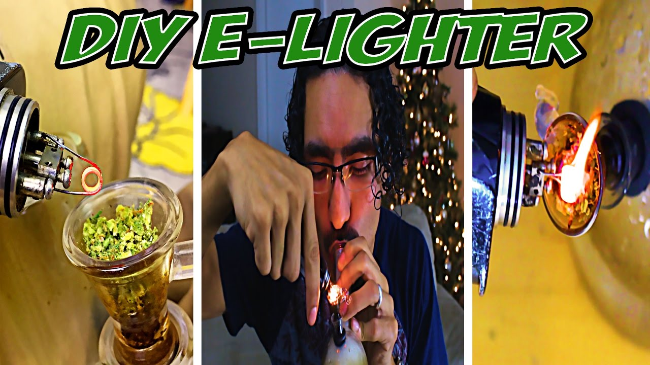 How to Make an Electric Lighter | EASY DIY WEED HACKS | – Lexichronic